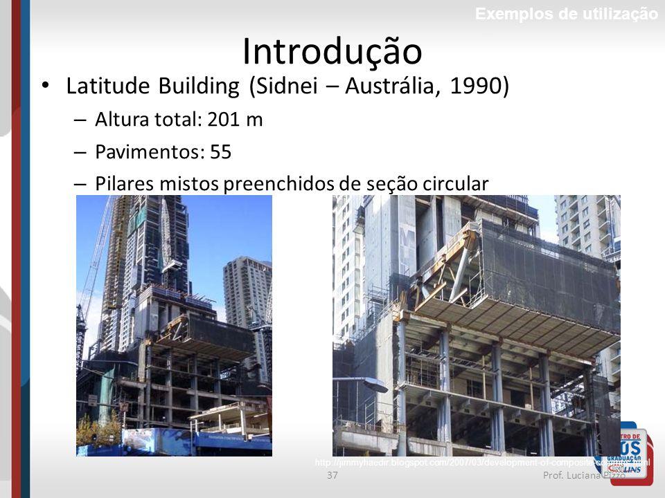 Introdução Latitude Building (Sidnei – Austrália, 1990)