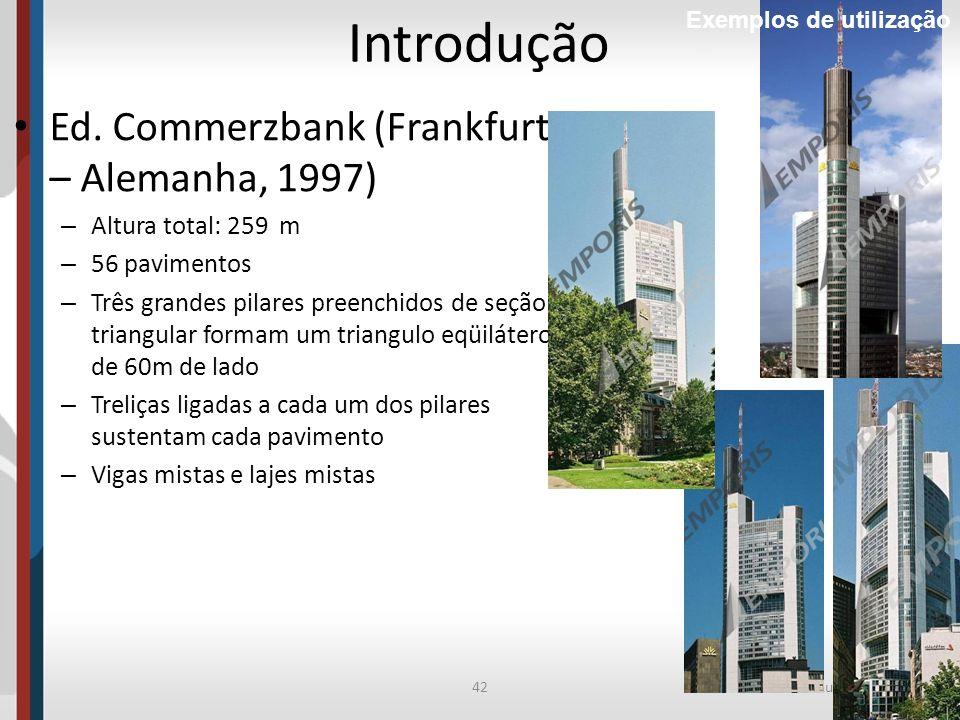 Introdução Ed. Commerzbank (Frankfurt – Alemanha, 1997)