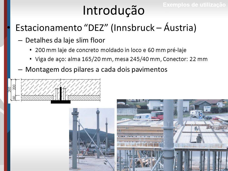 Introdução Estacionamento DEZ (Innsbruck – Áustria)