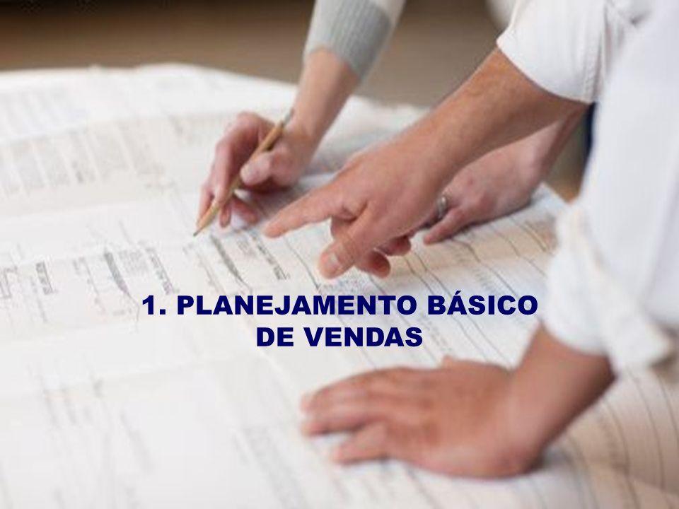 1. PLANEJAMENTO BÁSICO DE VENDAS