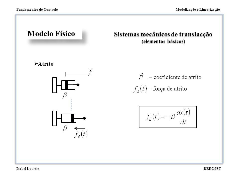 Sistemas mecânicos de translacção