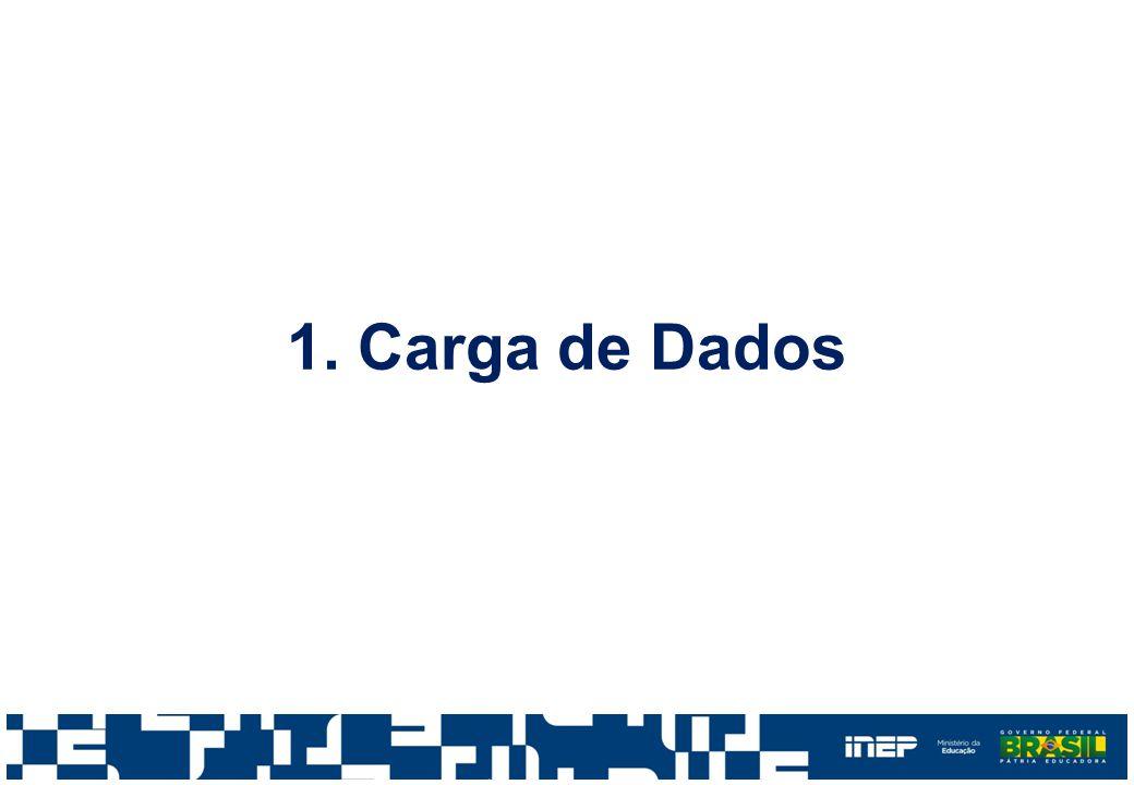 1. Carga de Dados