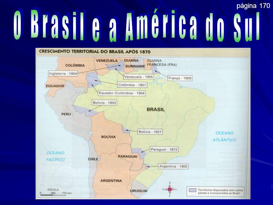 O Brasil e a América do Sul