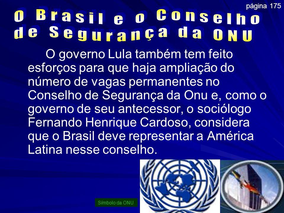 O Brasil e o Conselho de Segurança da ONU