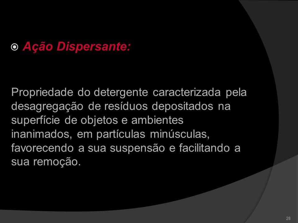 Ação Dispersante: