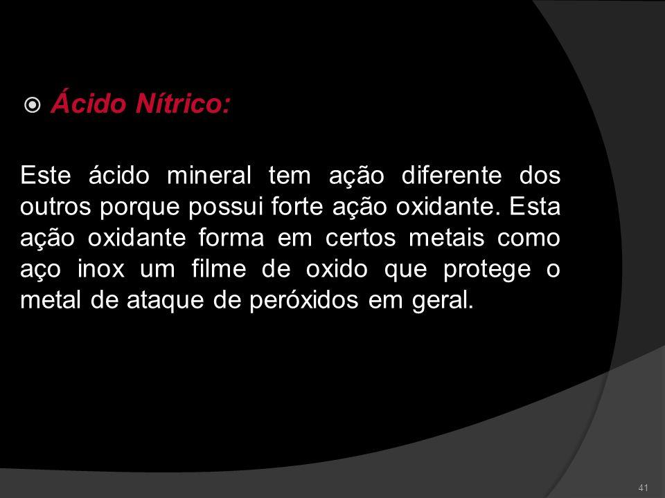 Ácido Nítrico: