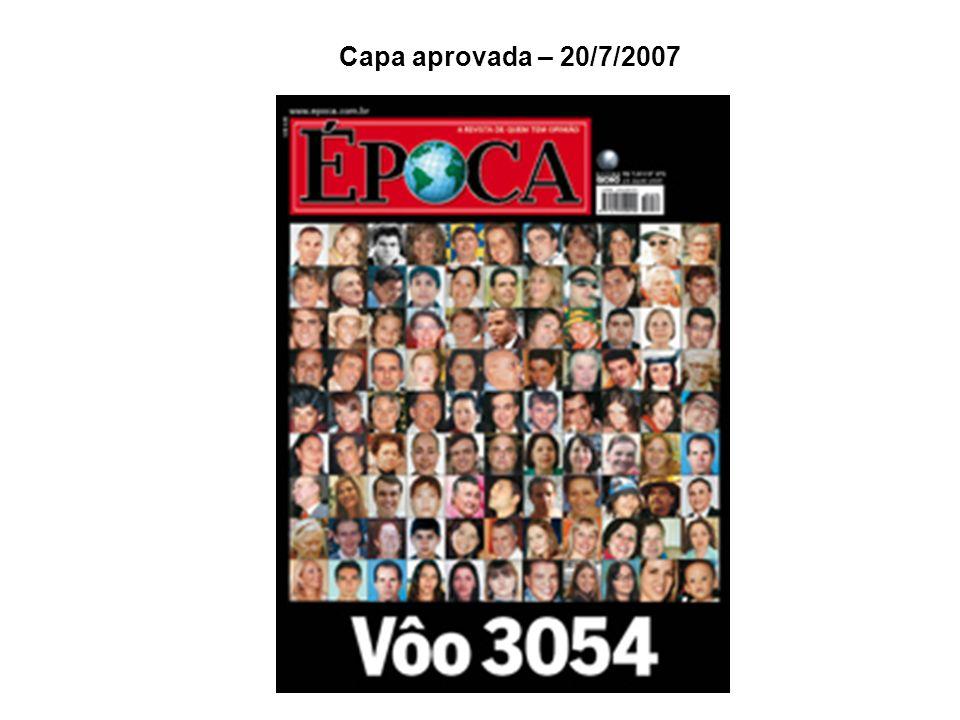 Capa aprovada – 20/7/2007
