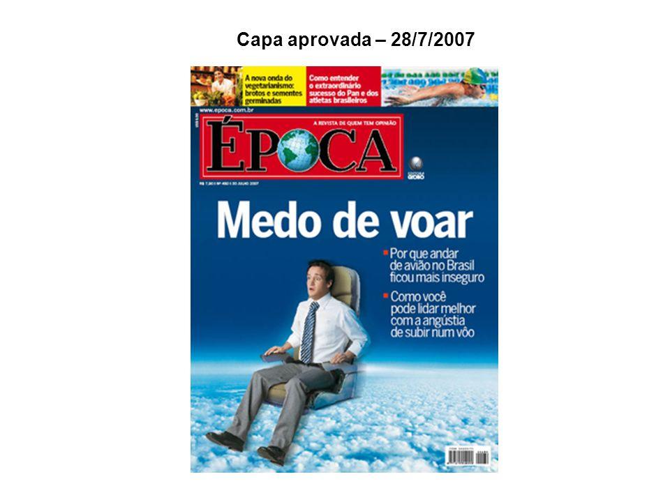 Capa aprovada – 28/7/2007