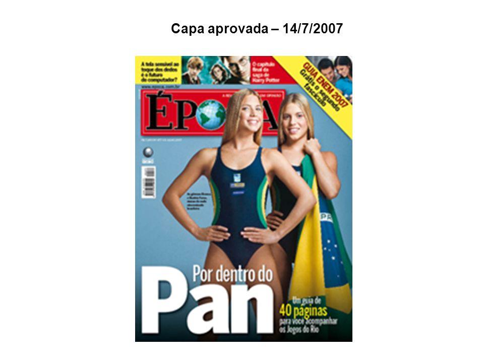 Capa aprovada – 14/7/2007