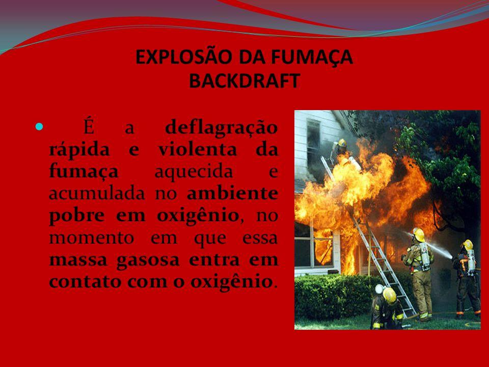 EXPLOSÃO DA FUMAÇA BACKDRAFT