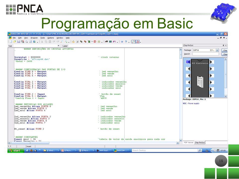 Programação em Basic