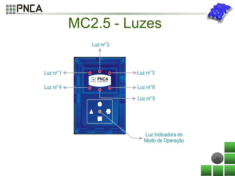 MC2.5 - Luzes