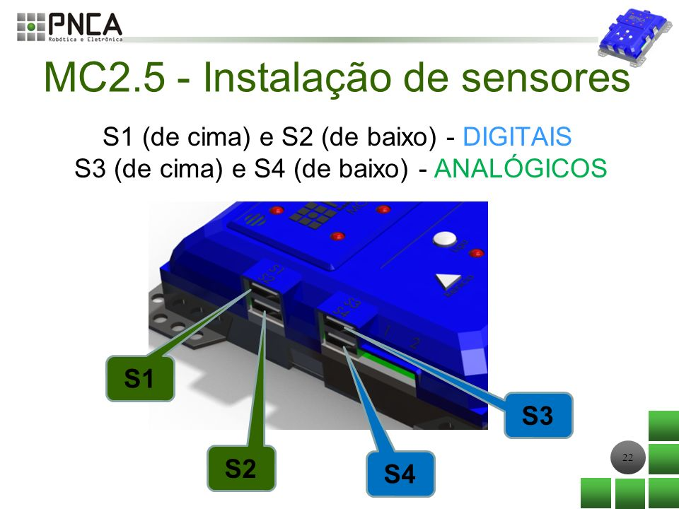 MC2.5 - Instalação de sensores