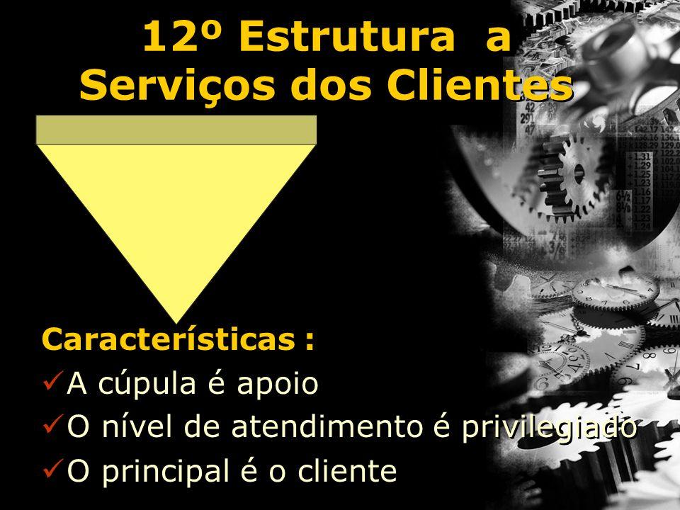 12º Estrutura a Serviços dos Clientes