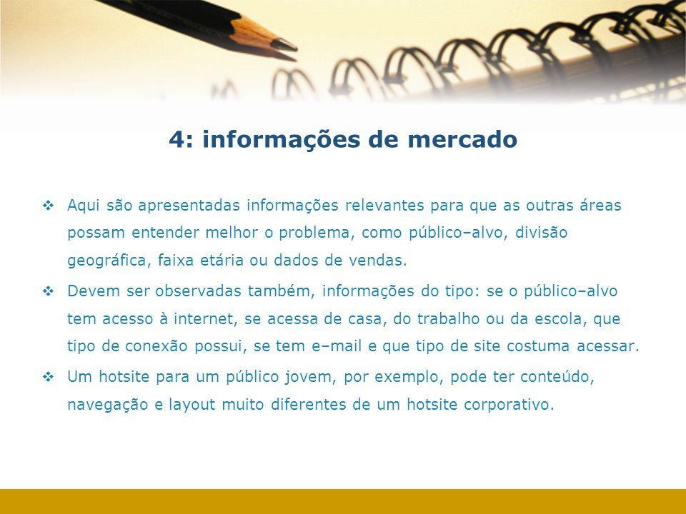 4: informações de mercado