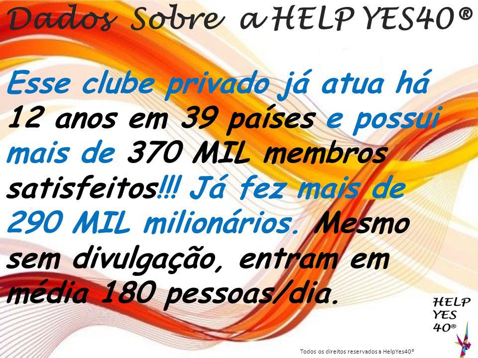 Dados Sobre a HELP YES40®