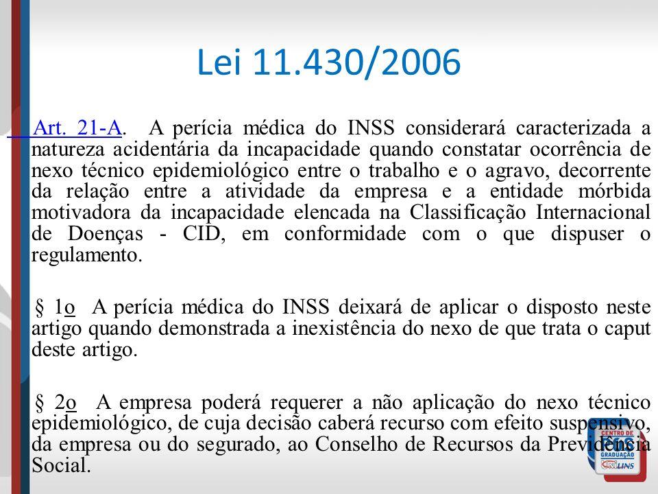 Lei 11.430/2006