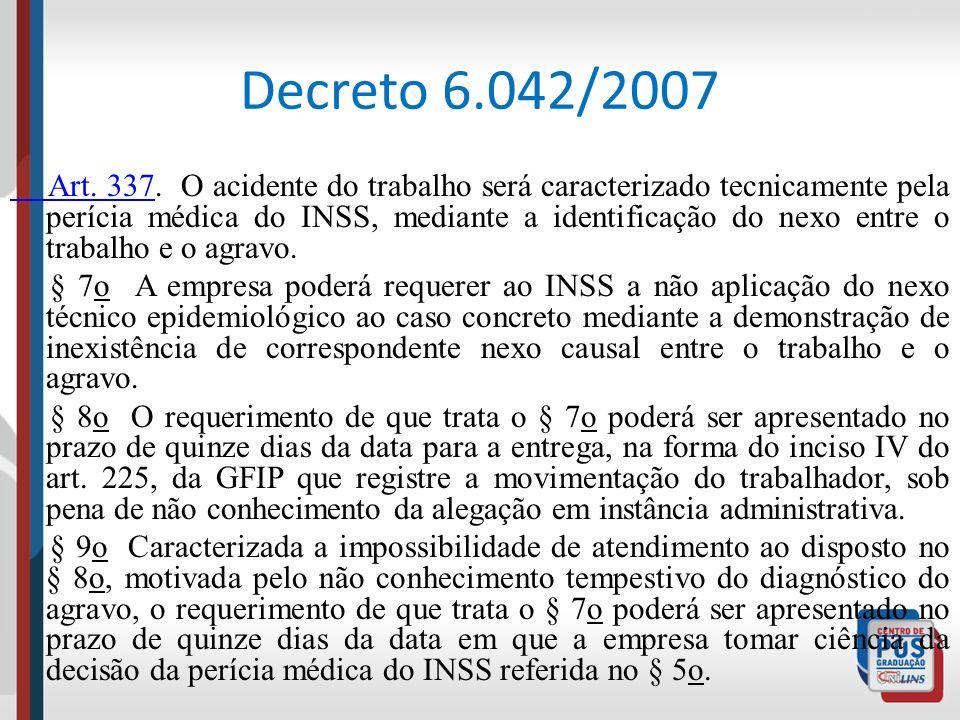 Decreto 6.042/2007