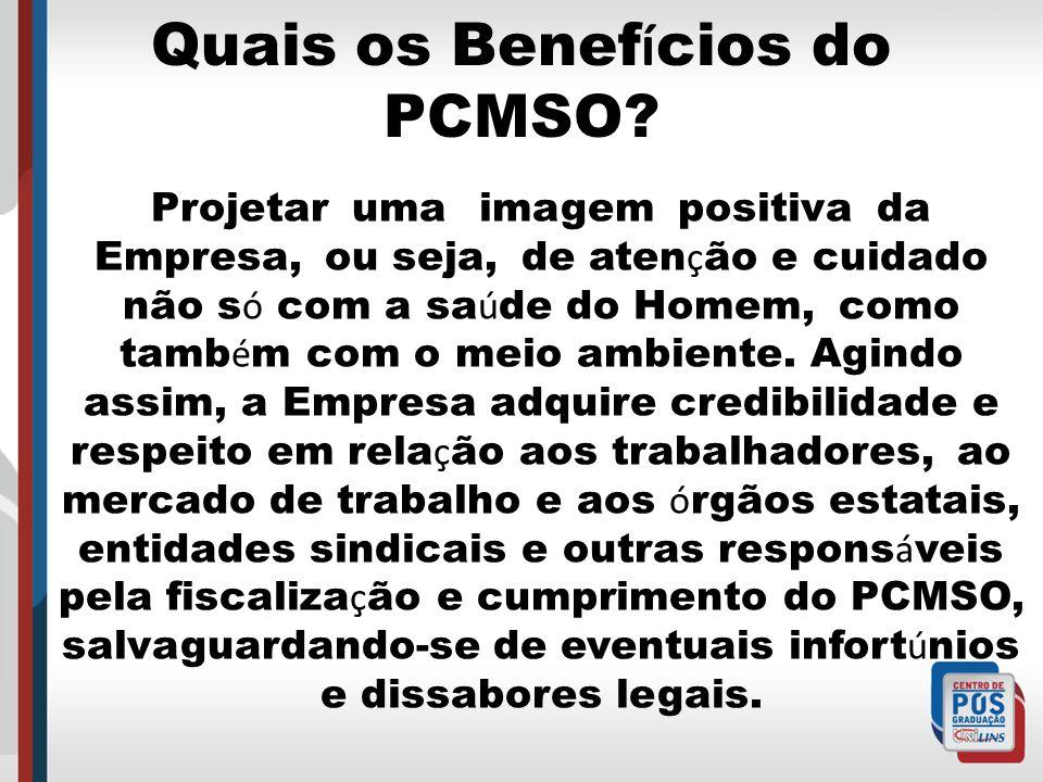 Quais os Benefícios do PCMSO