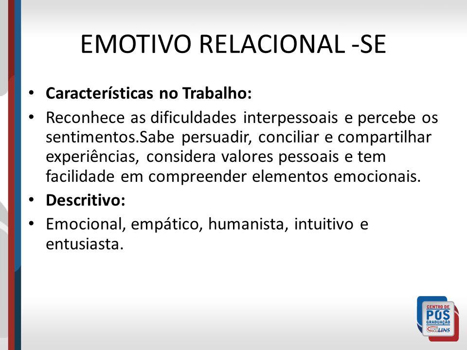EMOTIVO RELACIONAL -SE