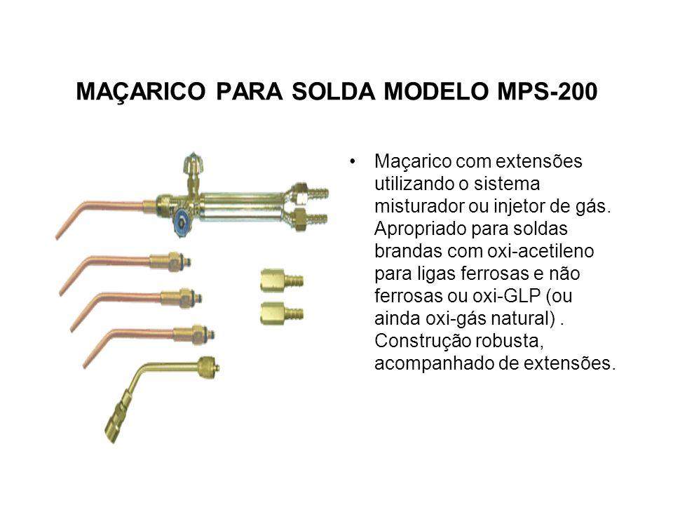 MAÇARICO PARA SOLDA MODELO MPS-200