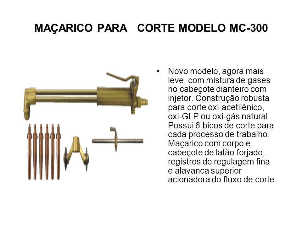 MAÇARICO PARA CORTE MODELO MC-300