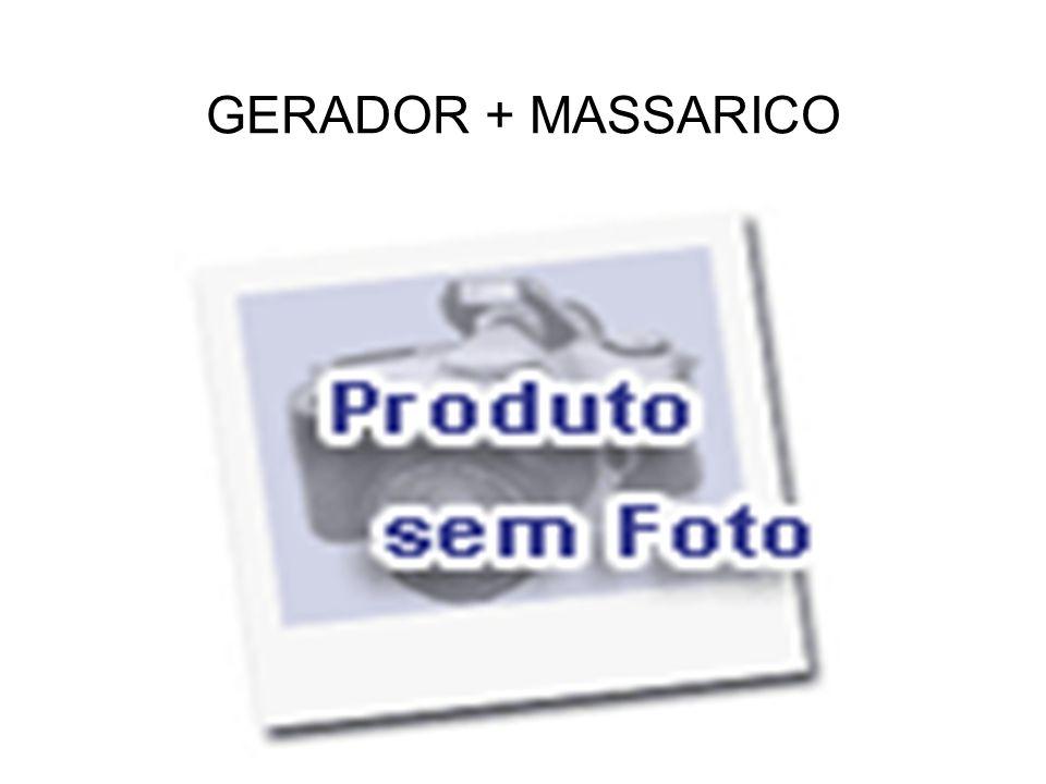 GERADOR + MASSARICO