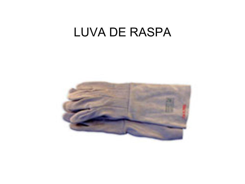 LUVA DE RASPA