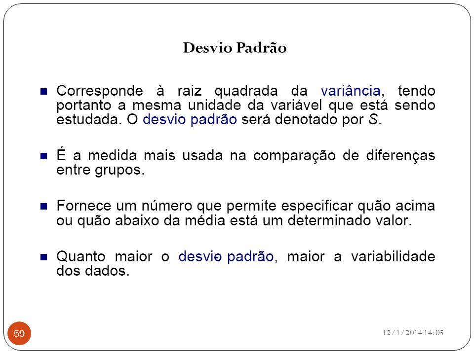 Desvio Padrão 25/03/2017 15:21