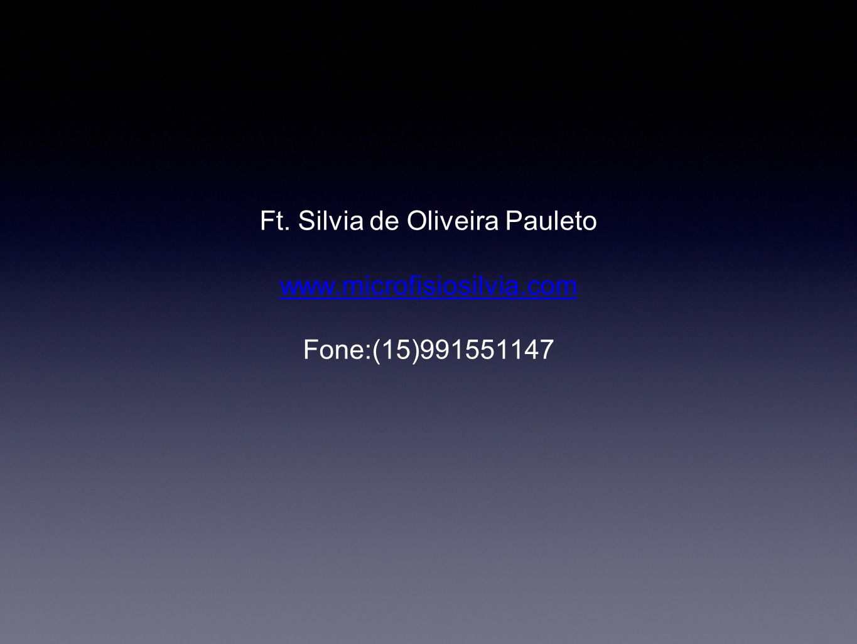 Ft. Silvia de Oliveira Pauleto