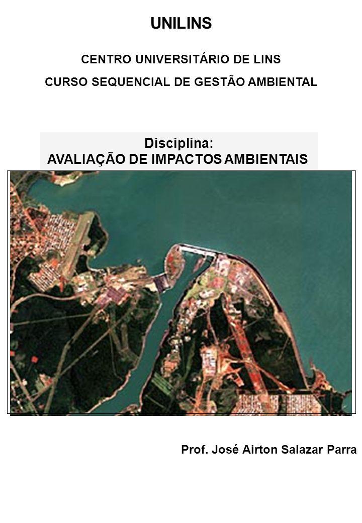 CENTRO UNIVERSITÁRIO DE LINS CURSO SEQUENCIAL DE GESTÃO AMBIENTAL