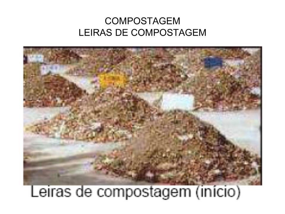 COMPOSTAGEM LEIRAS DE COMPOSTAGEM