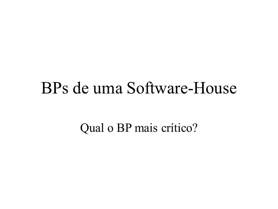 BPs de uma Software-House