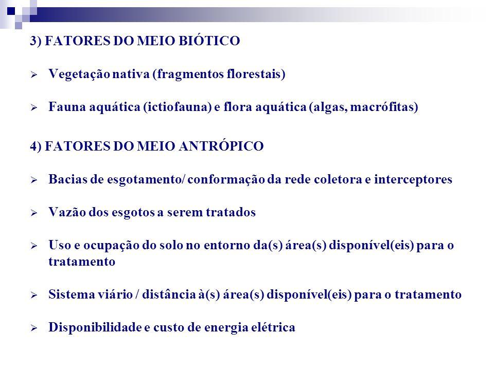 3) FATORES DO MEIO BIÓTICO