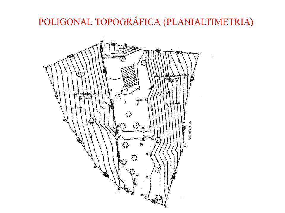 POLIGONAL TOPOGRÁFICA (PLANIALTIMETRIA)