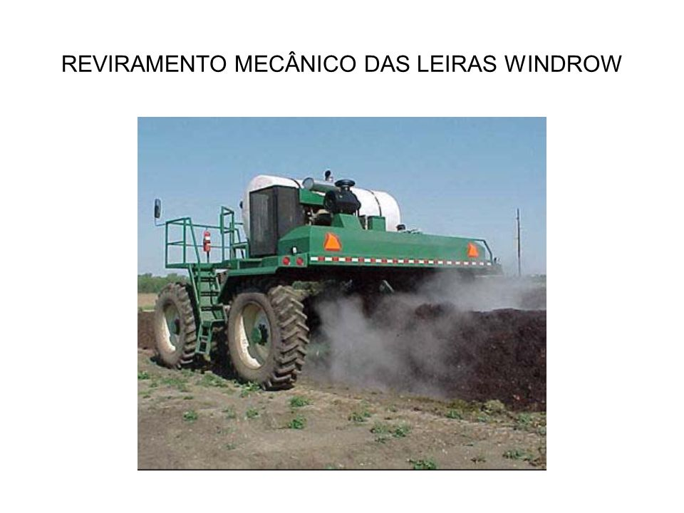 REVIRAMENTO MECÂNICO DAS LEIRAS WINDROW