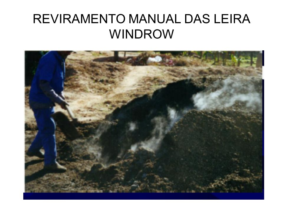 REVIRAMENTO MANUAL DAS LEIRA WINDROW