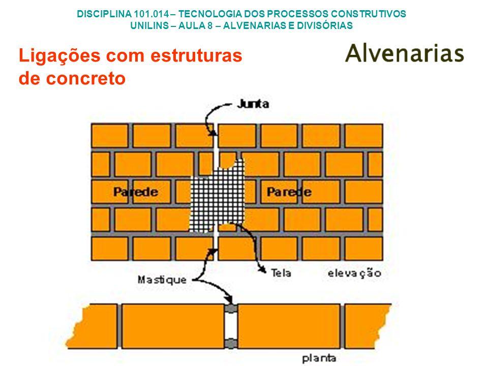 Ligações com estruturas de concreto