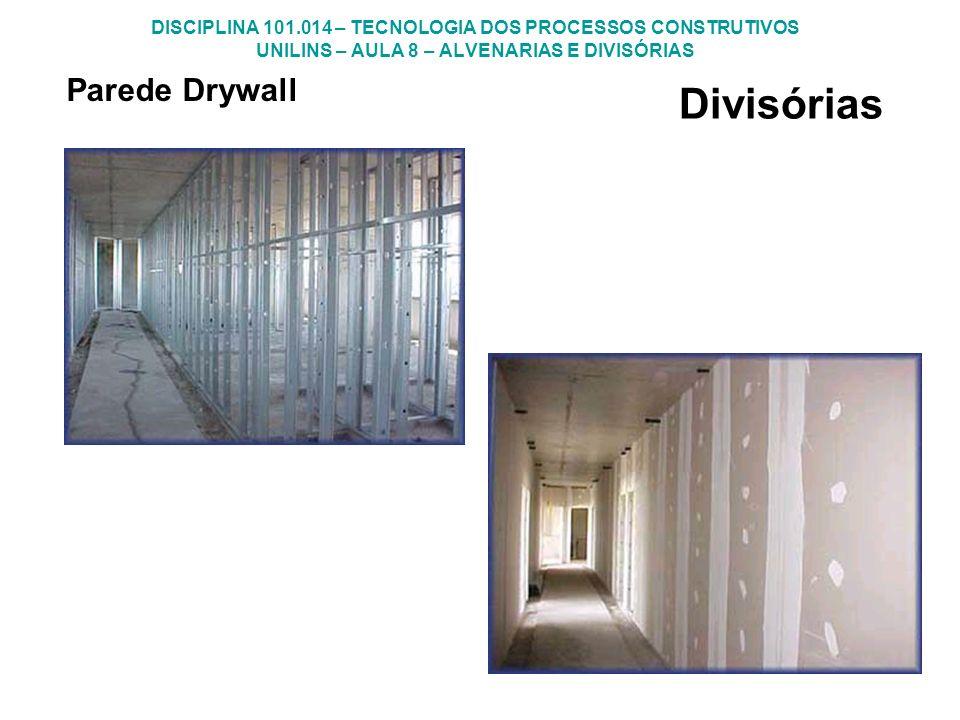 Divisórias Parede Drywall