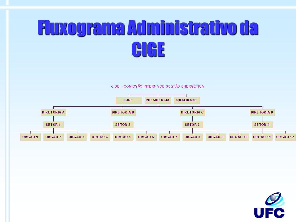 Fluxograma Administrativo da CIGE