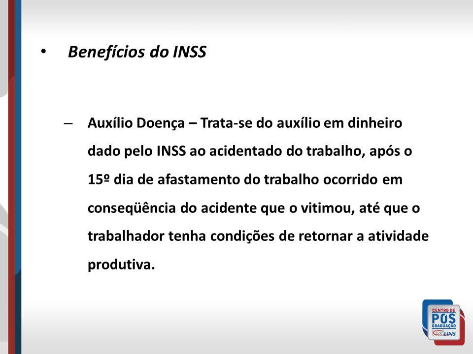 Benefícios do INSS