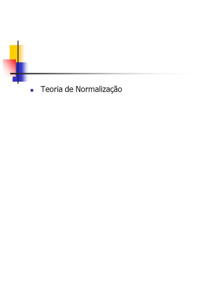 Teoria de Normalização