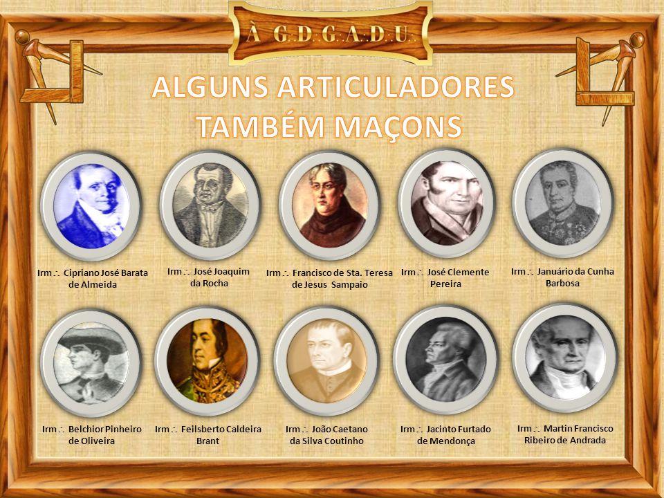 ALGUNS ARTICULADORES TAMBÉM MAÇONS