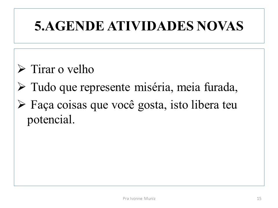 5.AGENDE ATIVIDADES NOVAS