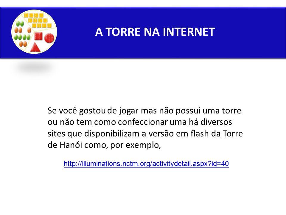 A TORRE NA INTERNET
