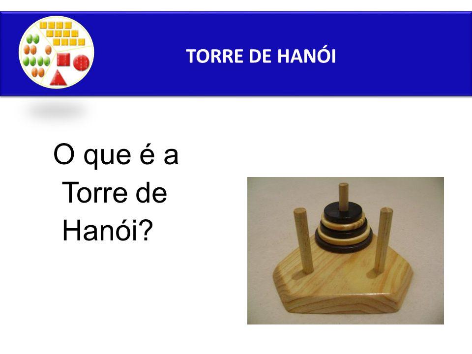TORRE DE HANÓI O que é a Torre de Hanói