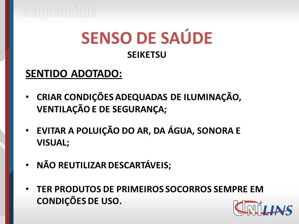 SENSO DE SAÚDE SEIKETSU