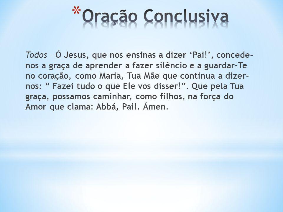 Oração Conclusiva