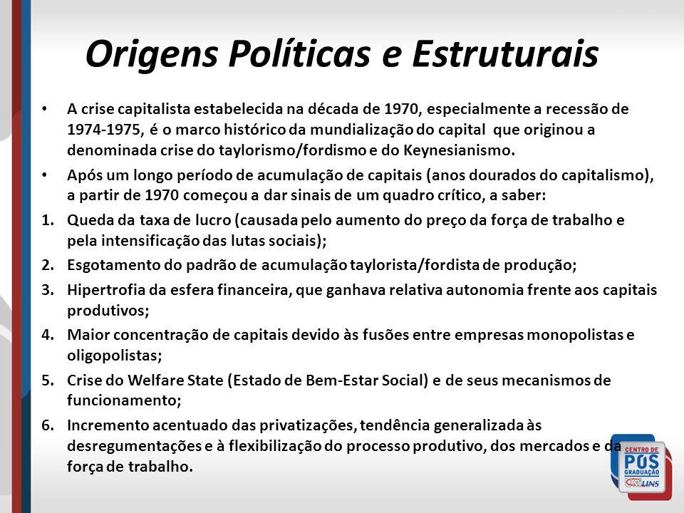 Origens Políticas e Estruturais