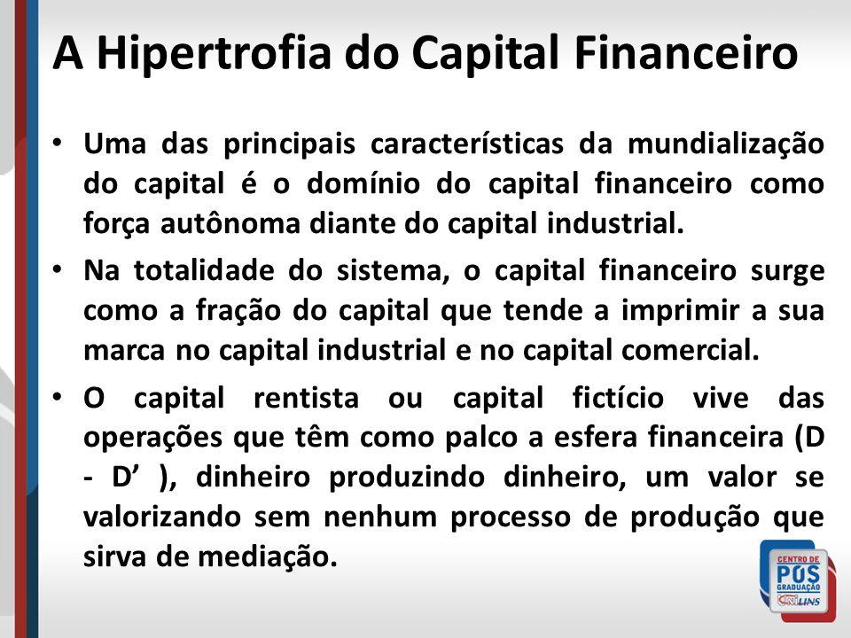 A Hipertrofia do Capital Financeiro